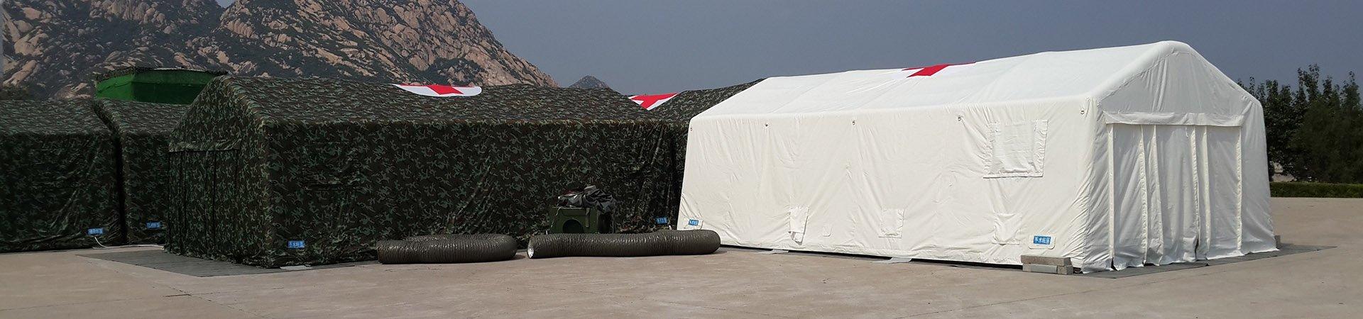 公众洗消帐篷内部喷淋系统