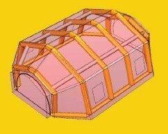充气帐篷VIII-S-1