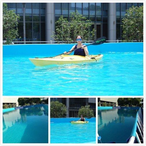 支架式可移动游泳池