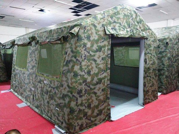 zhong央控制充气帐篷
